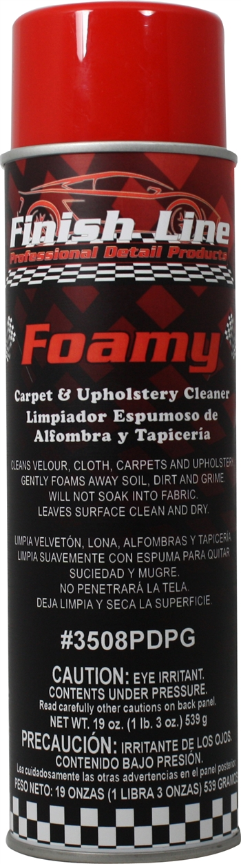 Foamy Carpet Amp Upholstery Cleaner